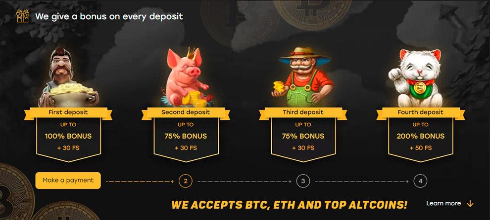 Mengakui kembali slot bitcoin